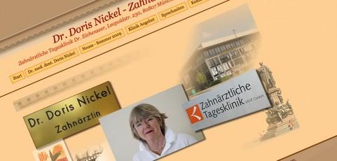 Dr. Doris Nickel, Dentist/Zahnärztin; Munich/München