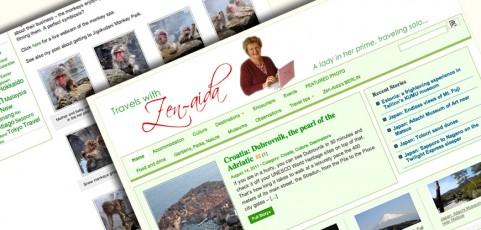 Travels with Zenaida; Munich/Berlin/Round the World