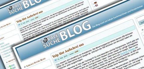 Lokale Suche Blog; Germany (Relaunch)