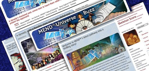 MEND™ Universe Buzz; Production blog