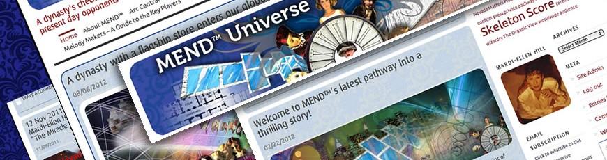MEND™ Universe Buzz; Production blog