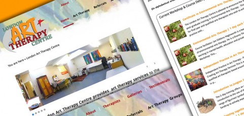 London Art Therapy Centre – Website Relaunch and Redevelopment